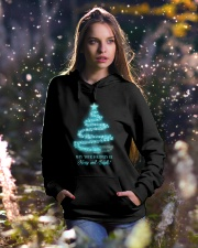 Merry And Bright Hooded Sweatshirt lifestyle-holiday-hoodie-front-5