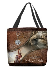 Native Leather Bag All-over Tote back