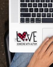 Love Someone With Autism NTV Sticker - Single (Horizontal) aos-sticker-single-horizontal-lifestyle-front-11