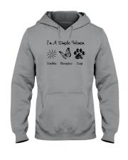 I'm A Simple Woman Hooded Sweatshirt thumbnail