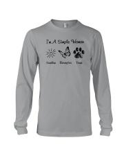 I'm A Simple Woman Long Sleeve Tee thumbnail