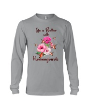 Life Is Better With Hummingbirds Long Sleeve Tee thumbnail