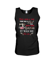 There Was A Girl Who Loved Quilting Unisex Tank thumbnail