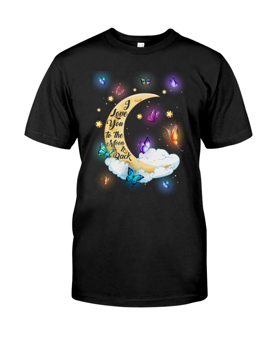 I Love You To The Moon And Back Classic T-Shirt