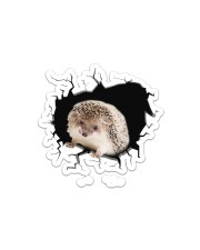 Hedgehog  Sticker - Single (Horizontal) front