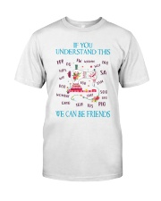 We Can Be Friends Classic T-Shirt front