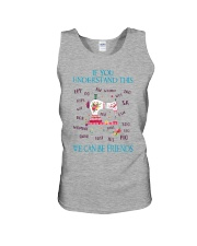 We Can Be Friends Unisex Tank thumbnail
