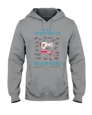 We Can Be Friends Hooded Sweatshirt thumbnail