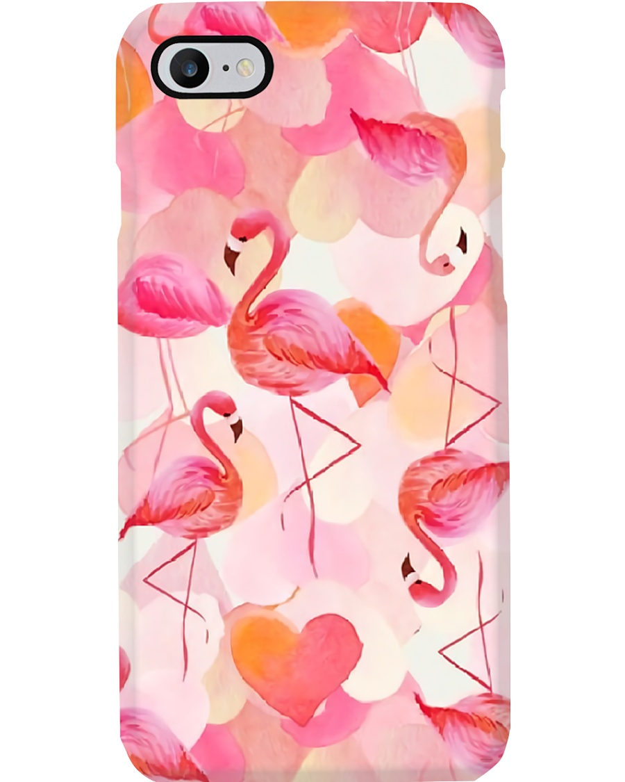 For Flamingo Lovers Phone Case