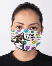 Bigfoot Ew People Mask Cloth face mask aos-face-mask-lifestyle-01