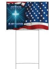 Jesus Is My Savior 18x12 Yard Sign front