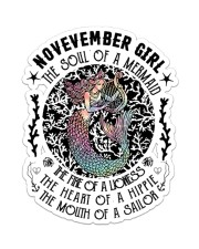 November Girl Sticker - Single (Vertical) front