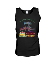 The Best Antidepressant Is A Sewing Machine Unisex Tank thumbnail