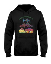 The Best Antidepressant Is A Sewing Machine Hooded Sweatshirt thumbnail