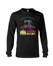 The Best Antidepressant Is A Sewing Machine Long Sleeve Tee thumbnail
