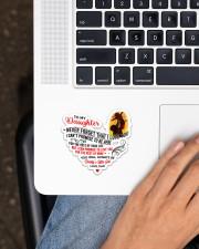 To My Daughter Sticker - Single (Horizontal) aos-sticker-single-horizontal-lifestyle-front-11