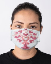 Breast Cancer Embroidery Cloth face mask aos-face-mask-lifestyle-01