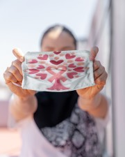 Breast Cancer Embroidery Cloth face mask aos-face-mask-lifestyle-07