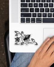 Bee  Sticker - Single (Horizontal) aos-sticker-single-horizontal-lifestyle-front-11