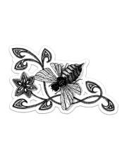 Bee  Sticker - Single (Horizontal) front