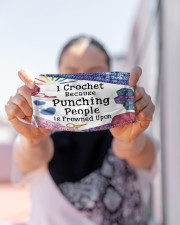 For Crochet Lovers Cloth face mask aos-face-mask-lifestyle-07