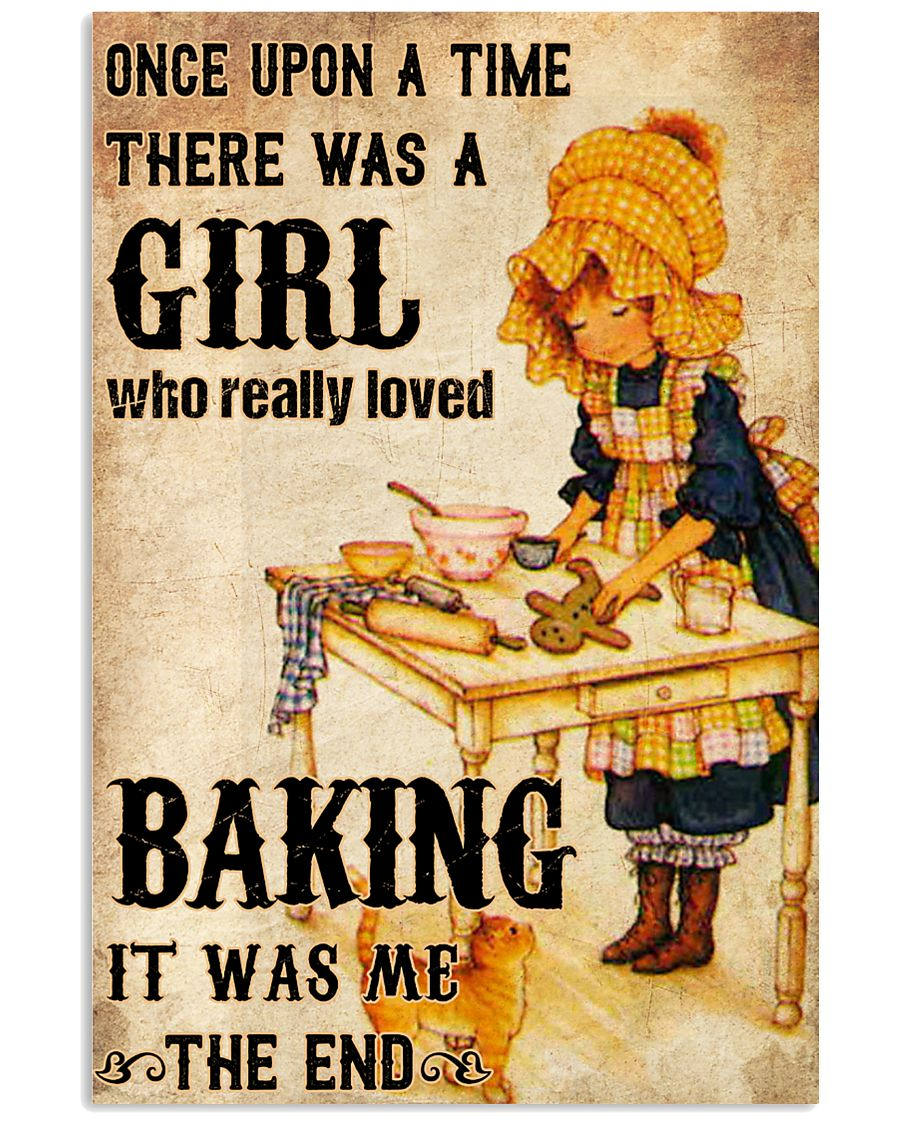 A Girl Who Really Loved Baking 11x17 Poster