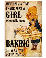 A Girl Who Really Loved Baking 11x17 Poster front
