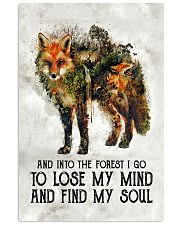 For Fox Lovers 11x17 Poster front