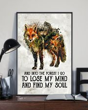 For Fox Lovers 11x17 Poster lifestyle-poster-2