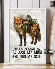 For Fox Lovers 11x17 Poster lifestyle-poster-4