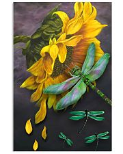 Sunflower And Dragonfly 11x17 Poster front