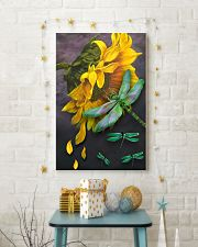 Sunflower And Dragonfly 11x17 Poster lifestyle-holiday-poster-3