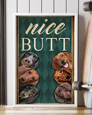 Dachshund Nice Butt 11x17 Poster lifestyle-poster-4