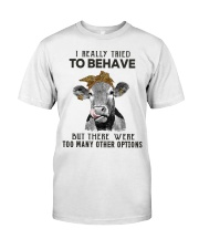 For Cow Lovers Classic T-Shirt front