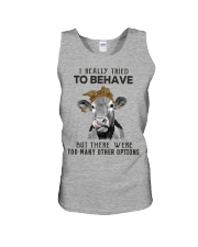 For Cow Lovers Unisex Tank thumbnail