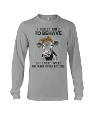 For Cow Lovers Long Sleeve Tee thumbnail