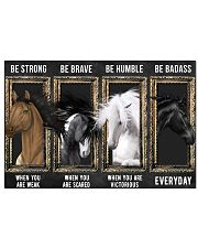 Horse Be Strong Poster 17x11 Poster front