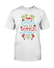 The Bobbin Funs Out Classic T-Shirt front