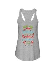 The Bobbin Funs Out Ladies Flowy Tank thumbnail