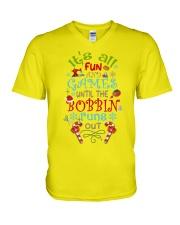 The Bobbin Funs Out V-Neck T-Shirt thumbnail