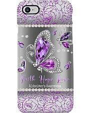 Faith Hope Love Alzheimer's Awareness Phone Case i-phone-8-case