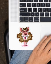 Pig  Sticker - Single (Vertical) aos-sticker-single-vertical-lifestyle-front-11