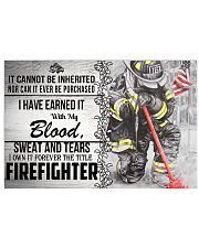 Firefighter I Own It Forever Poster 17x11 Poster front
