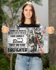 Firefighter I Own It Forever Poster 17x11 Poster poster-landscape-17x11-lifestyle-19