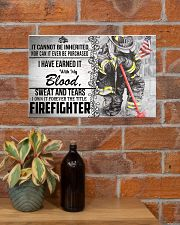 Firefighter I Own It Forever Poster 17x11 Poster poster-landscape-17x11-lifestyle-23