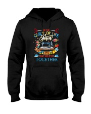 In The Quilt Of Life Hooded Sweatshirt front