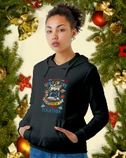In The Quilt Of Life Hooded Sweatshirt lifestyle-holiday-hoodie-front-4