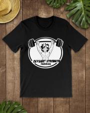 Savage Strength Training Premium Fit Mens Tee lifestyle-mens-crewneck-front-18