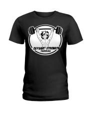 Savage Strength Training Ladies T-Shirt thumbnail