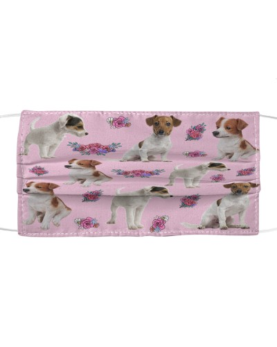 Jack Russell Terrier Face Mask